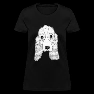 Basset Hound Puppy Women's T-Shirts