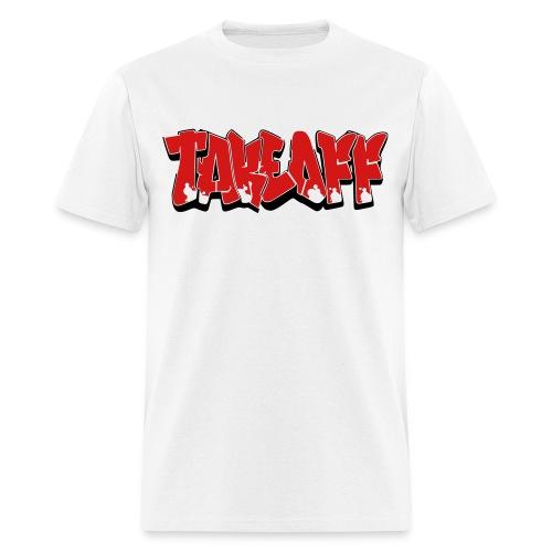 Takeoff Graffiti  - Men's T-Shirt