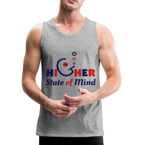 Higher State of Mind - Men's Premium Tank