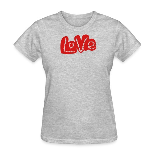 Love barbed wire heart - Women's T-Shirt