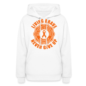 MS Warrior - Women's Hoodie (Orange) - Women's Hoodie