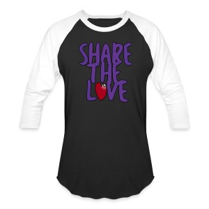Share the Love 3/4 Sleeve Shirt - Baseball T-Shirt
