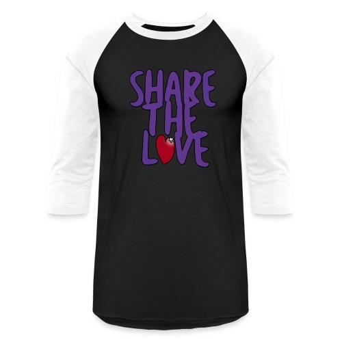 Share the Love 3/4 Sleeve Shirt - Baseball T-Shirt
