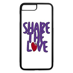 Share the Love iPhone 7 PLUS Case - iPhone 7 Plus/8 Plus Rubber Case