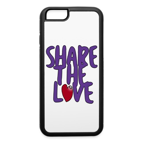 Share the Love iPhone 6/6s Case - iPhone 6/6s Rubber Case
