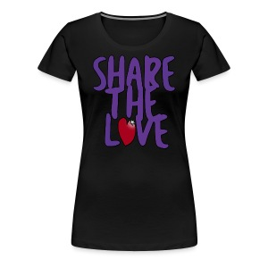Share the Love Women's Cut T-Shirt - Women's Premium T-Shirt