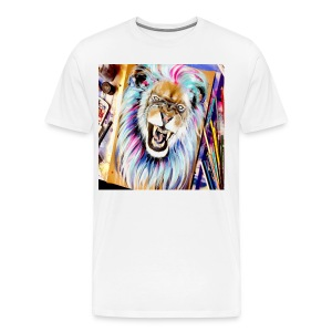 art LION - Men's Premium T-Shirt