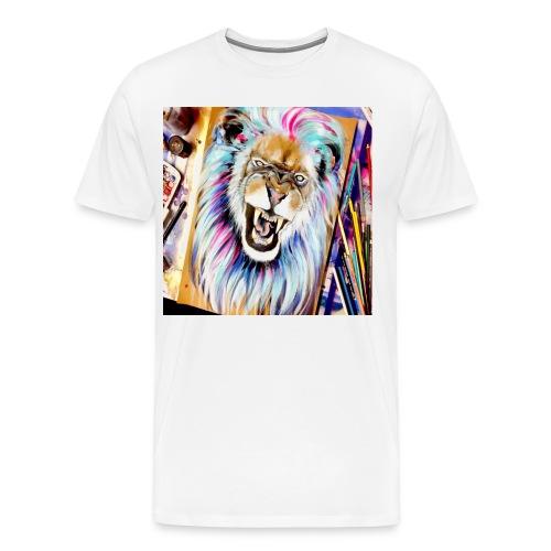 art LION - Men's Premium T-Shirt