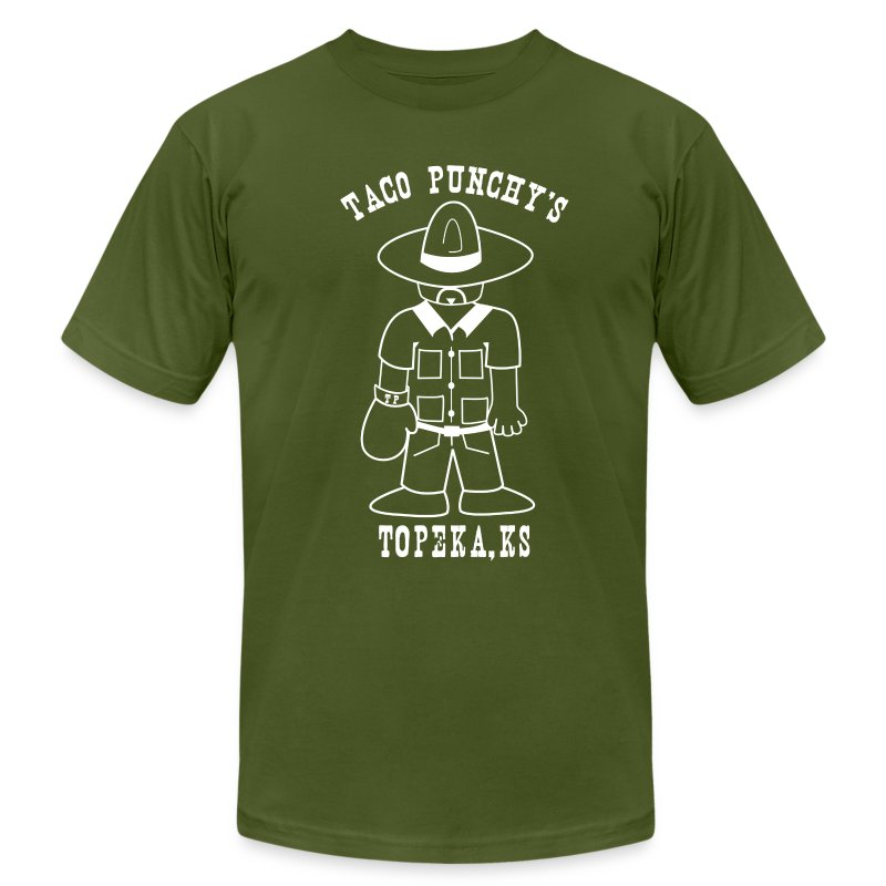 Taco Punchy's - Men's T-Shirt by American Apparel
