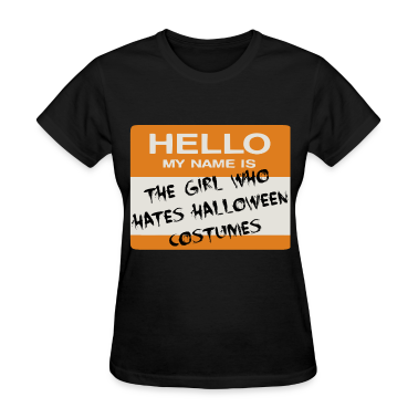Halloween Tag (Girl) Women's T-Shirts