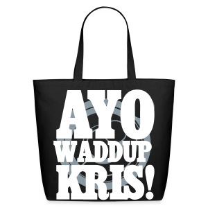[EXO] AYO WADDUP KRIS! - Eco-Friendly Cotton Tote