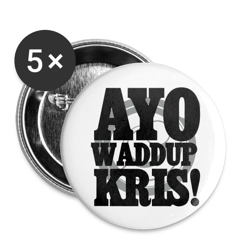 [EXO] AYO WADDUP KRIS! - Small Buttons