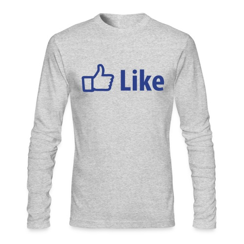 Press to Like - Men's Long Sleeve T-Shirt by Next Level