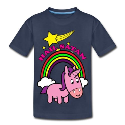 Hail Satan - Cute - Toddler Premium T-Shirt