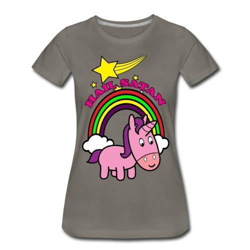 Hail Satan - Cute - Women's Premium T-Shirt
