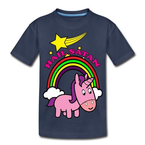 Hail Satan - Cute - Kids' Premium T-Shirt