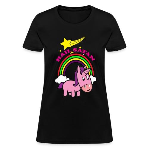 Hail Satan - Cute - Women's T-Shirt