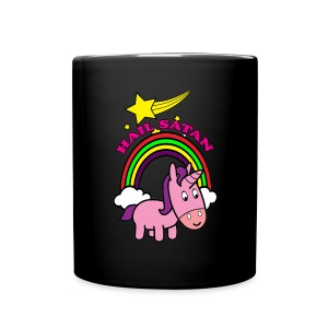 Hail Satan - Cute - Full Color Mug