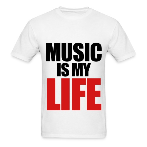 Music Life Men's Tee - Men's T-Shirt