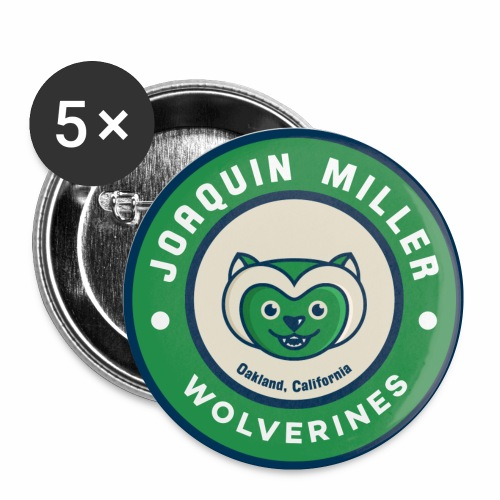 Wolverine Pins  - Small Buttons