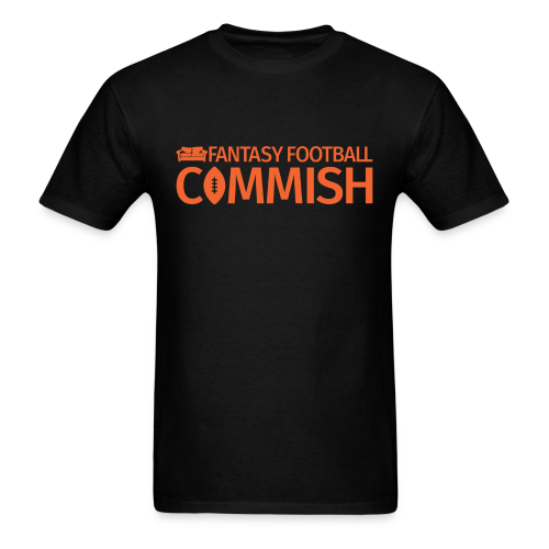 Fantasy Football Commish Orange - Men's T-Shirt