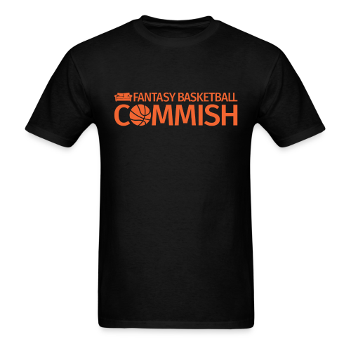 Fantasy Basketball Commish Orange - Men's T-Shirt