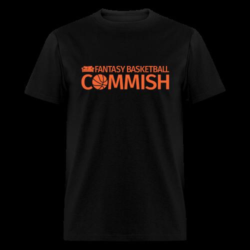 Fantasy Basketball Commish Orange - Men's T-Shirt
