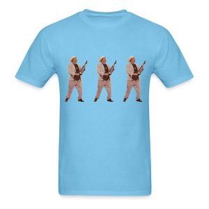 Earl Babbich x3 T-shirt (Fruit of the Loom) - Men's T-Shirt