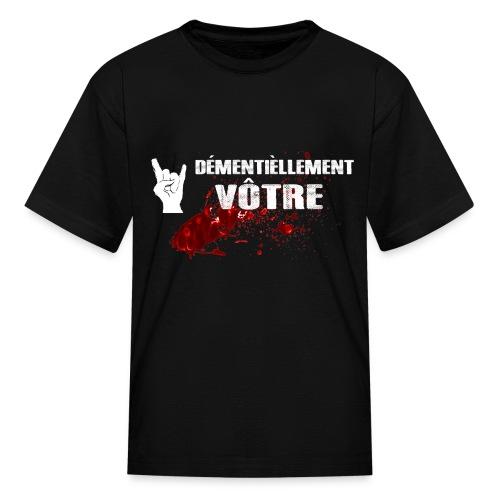 T-shirt 3/4 - T-shirt classique pour enfants