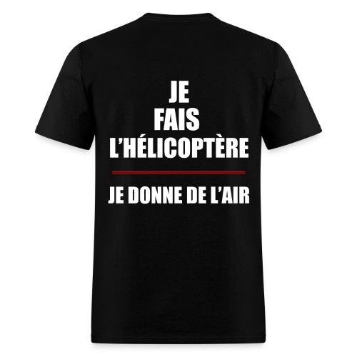 T-shirt hélicoptère - Men's T-Shirt