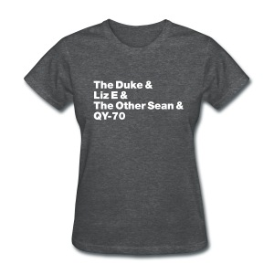 Old-school lineup Ladies' shirt - Women's T-Shirt