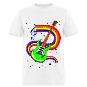 Guitar by @dankraven420 - Men's T-Shirt