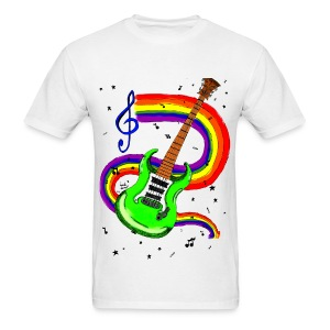 Guitar by @dankraven420 - Men's T-Shirt
