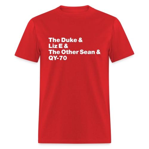 Old-school lineup Unisex shirt - Men's T-Shirt