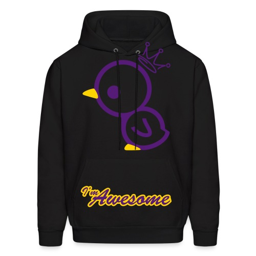 Awesome Duck - Men's Hoodie