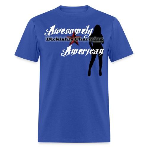 AwesomelyAmerican2 - Men's T-Shirt
