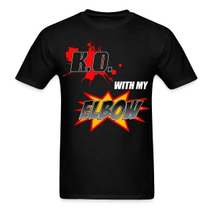 KO with my Elbow - Men's T-Shirt