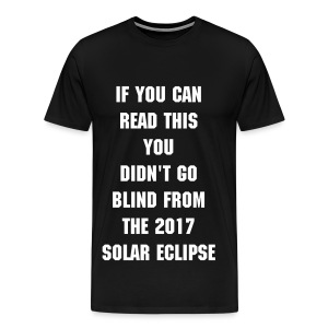 Solar Eclipse - Men's Premium T-Shirt