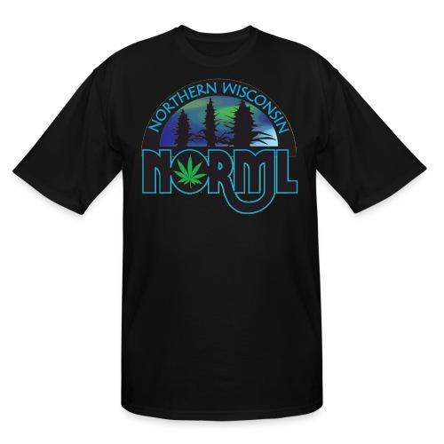 XL, 2XL and 3XL Northern Wisconsin NORML Logo Tshirt - Men's Tall T-Shirt