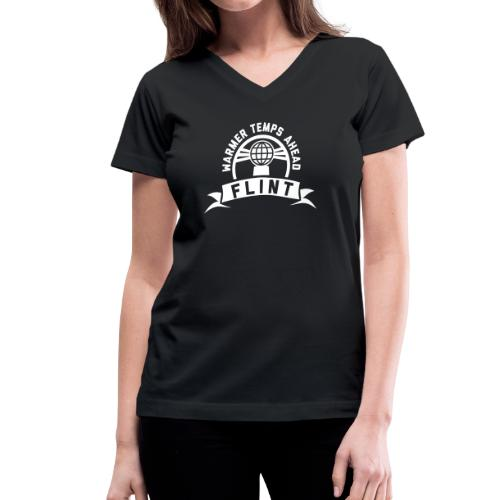 Warmer Temps Ahead - Women's V-Neck T-Shirt