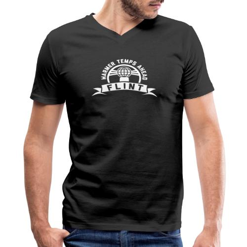 Warmer Temps Ahead - Men's V-Neck T-Shirt by Canvas