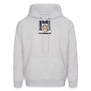 Men's Hoodie - webcomic,photo,loadingartist,loading,gregor,czaykowski,comic,cat,artist