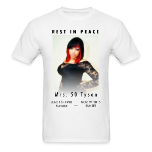 RIP Ms. 50 Tyson - Men's T-Shirt