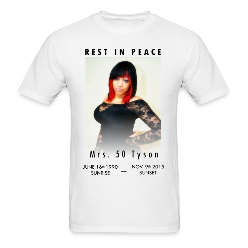 RIP Ms. 50 Tyson - Men's T-Shirt