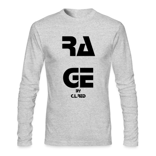 RAGE by C.L.Red - Men's Long Sleeve T-Shirt by Next Level