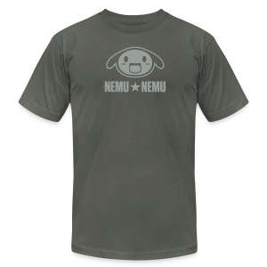 Unisex nemu*logo shirt - Men's T-Shirt by American Apparel