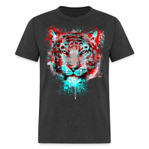 MEN'S TIGER Graffiti Art T-Shirt - Men's T-Shirt