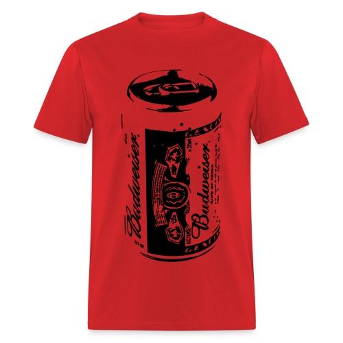 MEN'S Budweiser Can T-Shirt!  - Men's T-Shirt