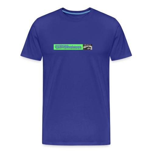Old talk show logo catfishratcoon - Men's Premium T-Shirt