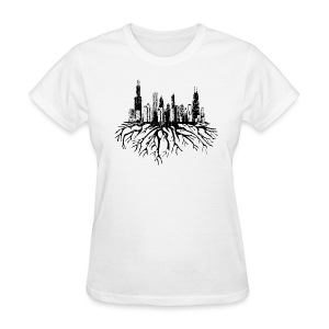 Chicago Skyline Roots - Women's T-Shirt